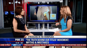 Appearance on Fox 25 News, Boston with Elizabeth Hopkins Morning News