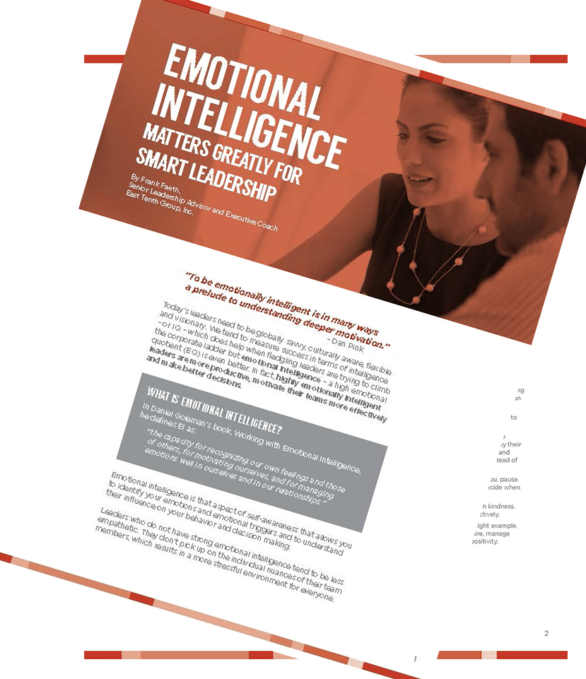 Emotional Intelligence.