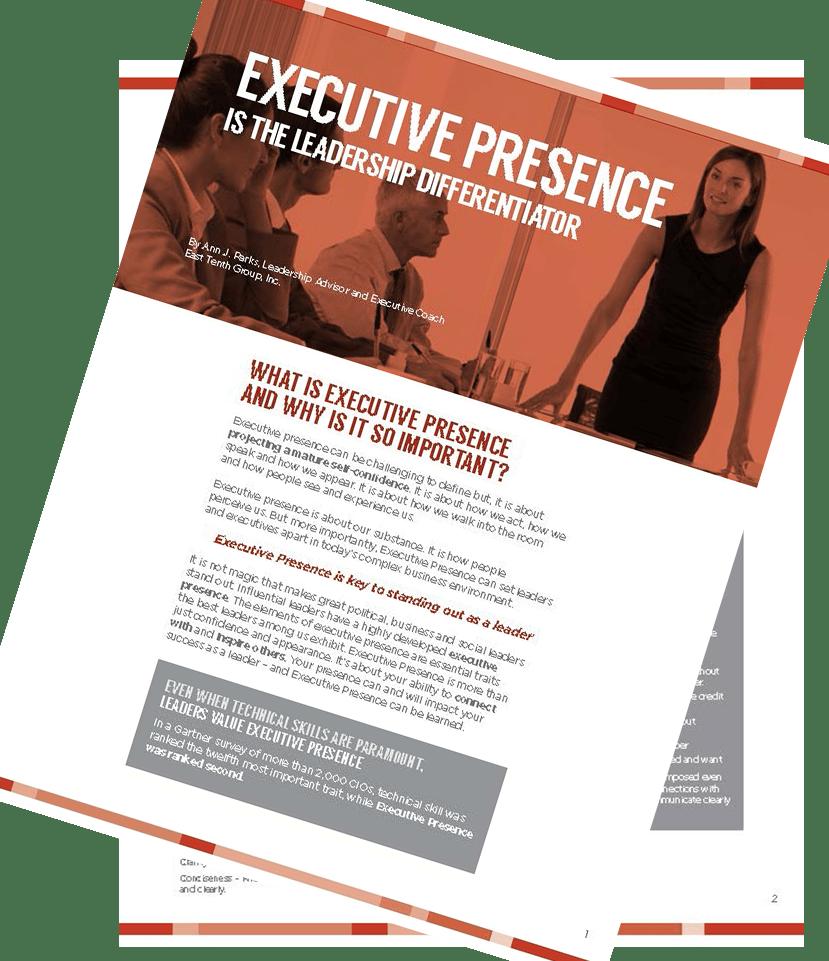 Executive Presence.