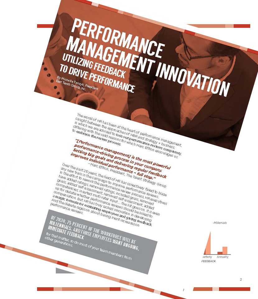 Performance Management Innovation