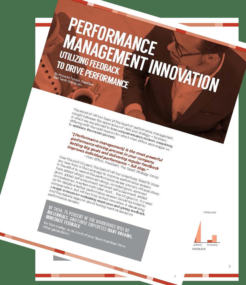 Performance Management Innovation