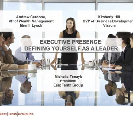 Executive Presence Breakfast Series