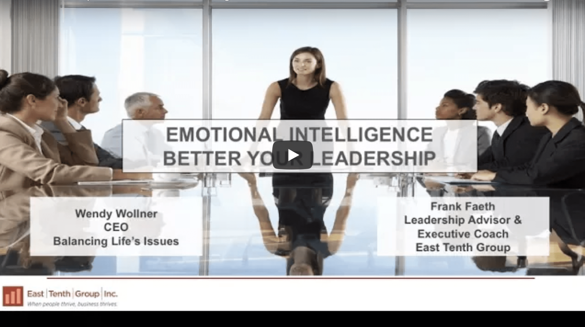 Emotional Intelligence Webcast
