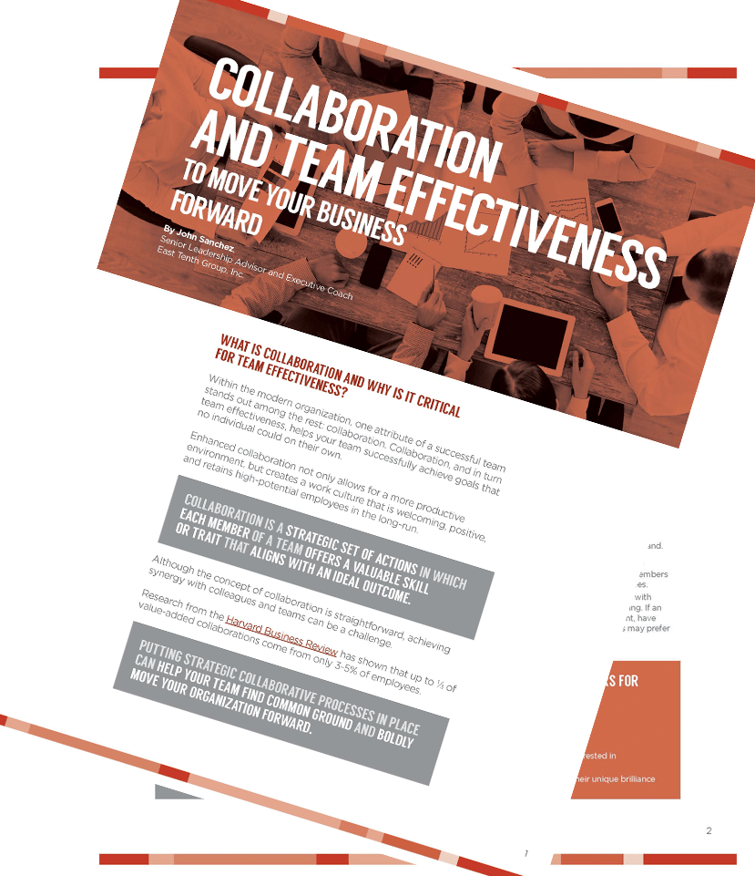 Collaboration and Team Effectiveness.